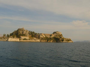 Corfu Town and Castle