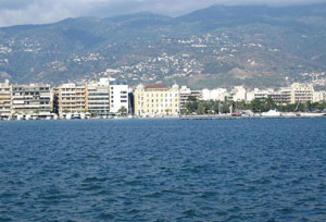 Volos, View from the port