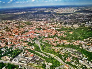 Vilnius-Lithuania from the air
