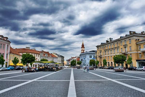 vilnius-lithuania old town