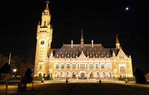 Peace Palace by Moonlight