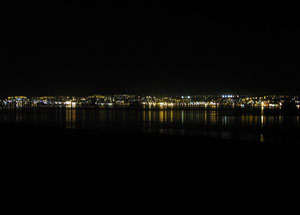 Dundee at night