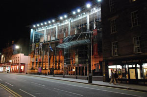 Festival Theatre in Edinburgh
