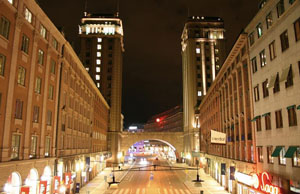 King street towers.Stockholm