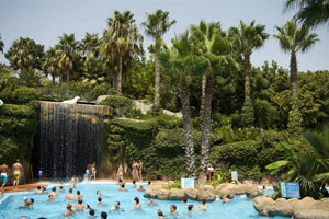 Aqualand Antalya Waterfall
