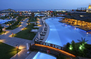 Turcia - Imagine nocturna hotel Antalya