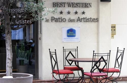 BEST WESTERN LE PATIO DES ARTISTES