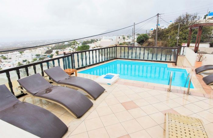 Hotel AMERISA SANTORINI GRECIA