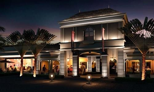 Hotel CENTARA GRAND AZURI RESORT AND SPA HAUTE RIVE MAURITIUS