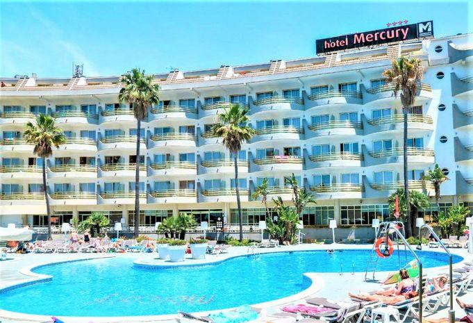 Hotel MERCURY Santa Susanna SPANIA