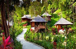 Hotel BUNGA RAYA ISLAND RESORT GAYA
