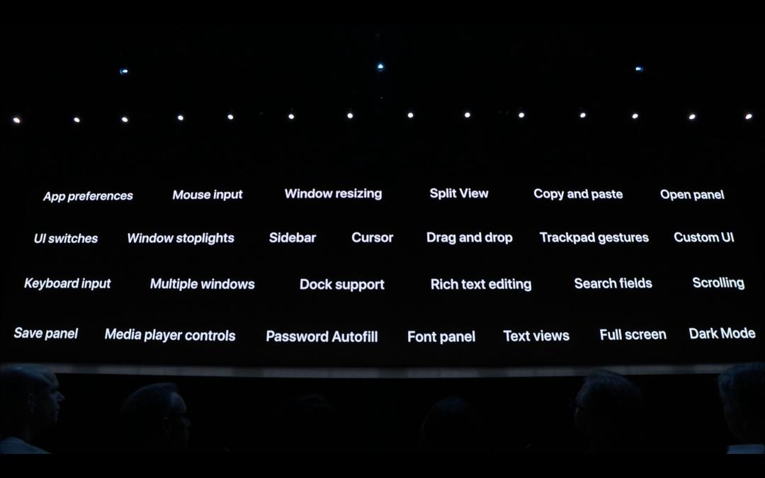 Technische Details von der WWDC 2019