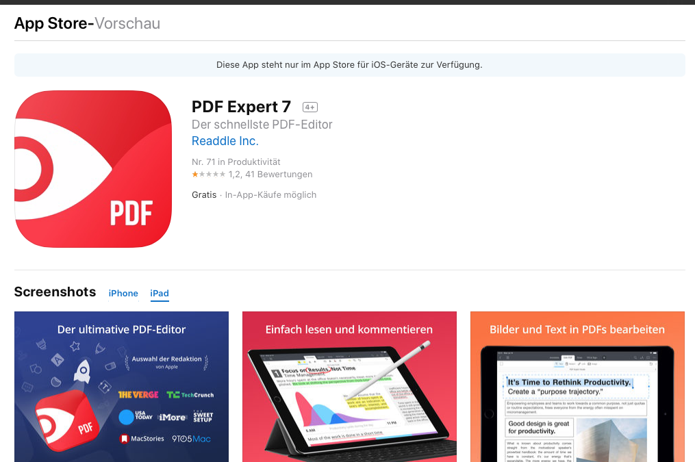 PDF Expert 7 – Was ist neu?