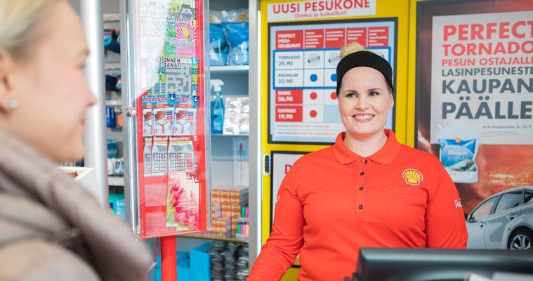 Huoltamokahvilatyöntekijä Shell Erottaja - Avoimet työpaikat