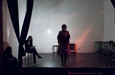 Lucia and Sam – Performance Still