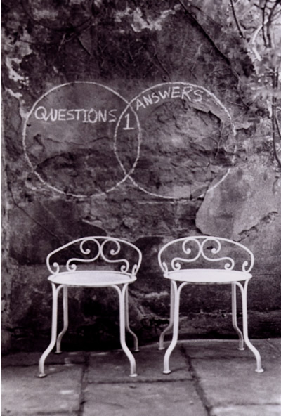 Questions and Answers – Chairs and Wall-Drawing