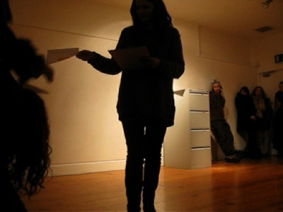 Reading Ensemble II – Performance Video Still – 01