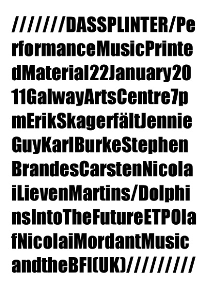 eading Ensemble II – Poster