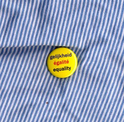 gelijkheid égalité equality – Badge