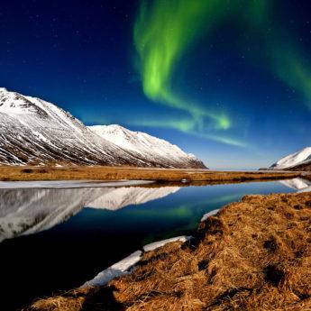 Kef Hedinsfjordur Auroraborealis Iceland 0718 08