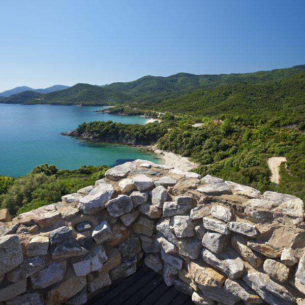 Halkidiki ancient stagira East Coast