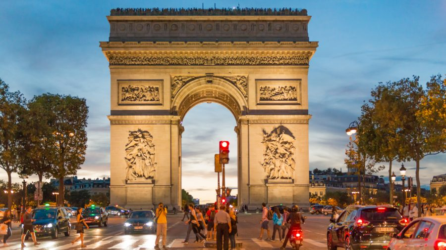 Cdg Paris Arc De Triumphe 1016 02