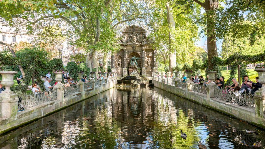 Cdg Paris Luxembourg Gardens 1016 02