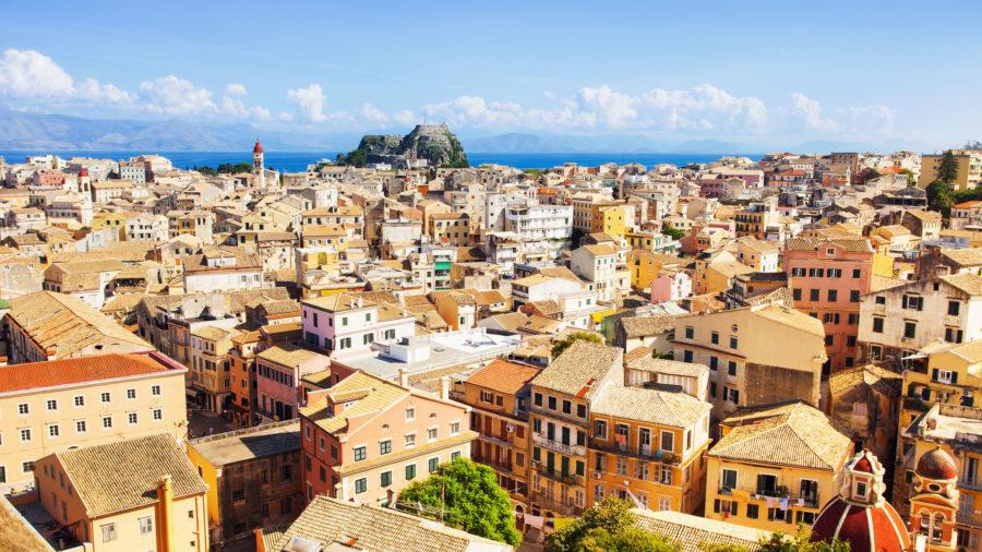 Corfu i Stock 500542094