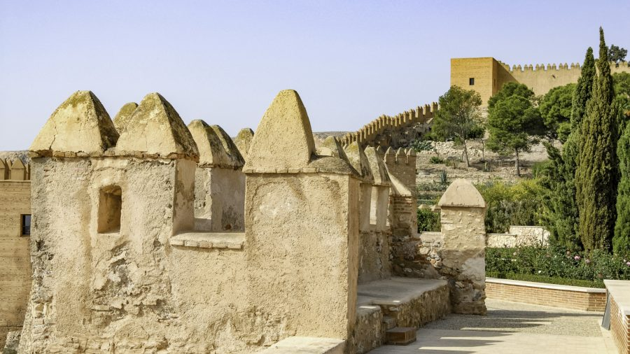 Lei Almeria City Alcazaba Walls 172158129 High Rfis 0318