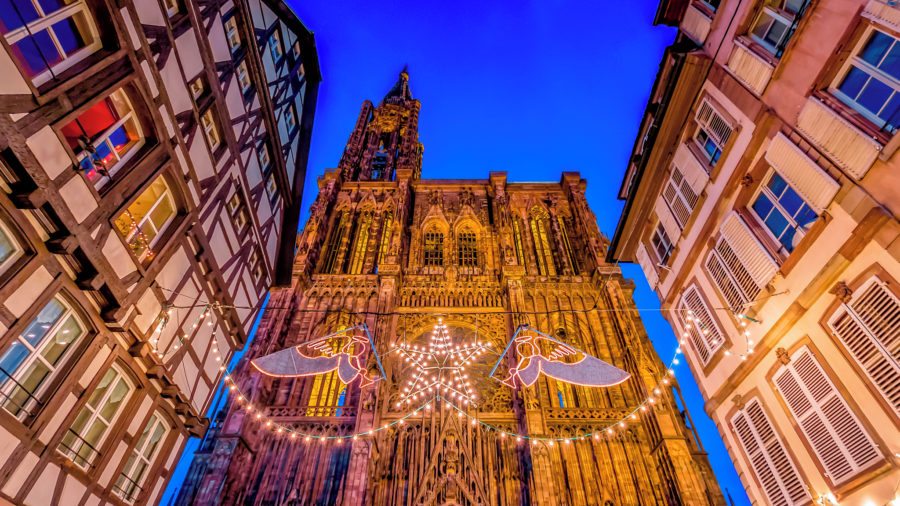SXB Christmas at Strasbourg Cathedral 521729015 Getty RGB 136 DPI For Web