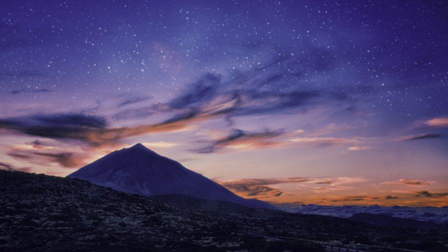 Silhouette Of Volcano Del Teide 629798692 Rfis 1218
