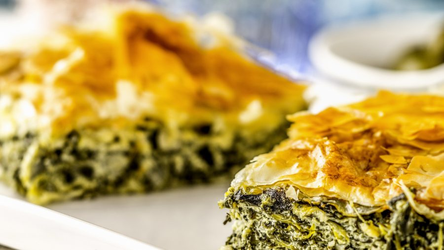 Greek Pie Spanakopita 538576656 Rfis 1218