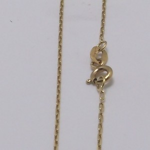 Καδένα κίτρινο Κ9 χρυσό - chg9001b