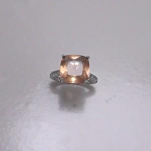 Δακτυλίδι από ροδιομένο ασήμι 925-rg003