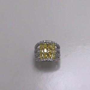 Δακτυλίδι από ροδιομένο ασήμι 925 -rg004