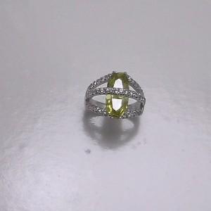 Δακτυλίδι από ροδιομένο ασήμι 925 -rg005