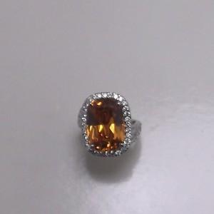 Δακτυλίδι από ροδιομένο ασήμι 925 -rg006