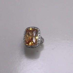 Δακτυλίδι από ροδιομένο ασήμι 925 -rg007
