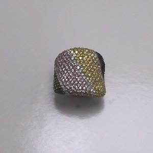 Δακτυλίδι από ροδιομένο ασήμι 925 -rg010