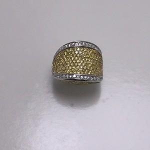 Δακτυλίδι από ροδιομένο ασήμι 925 -rg011