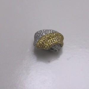 Δακτυλίδι από ροδιομένο ασήμι 925 -rg012