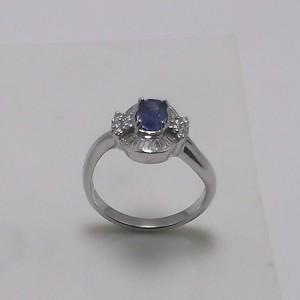 Δακτυλίδι λευκό Κ18 χρυσό - rgg015
