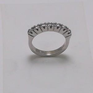 Δακτυλίδι κίτρινο + λευκό Κ18 χρυσό - rgg019