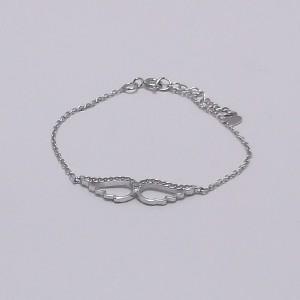 Βραχιόλι ροδιομένο ασήμι 925 - br221