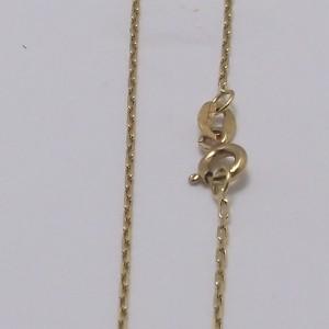 Καδένα κίτρινο Κ18 χρυσό - chg001a