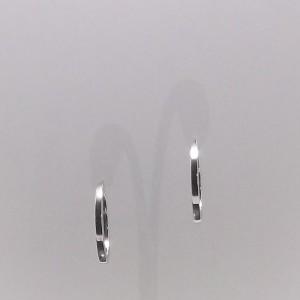 Σκουλαρίκια από ροδιομένο ασήμι 925 - er071