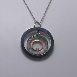 Κολιέ stainless steel - fnk019