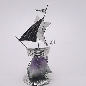 Επάργυρο δώρο καράβι gt018