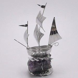 Επάργυρο δώρο Καράβι gt019