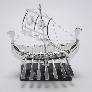Επάργυρο δώρο καράβι gt023